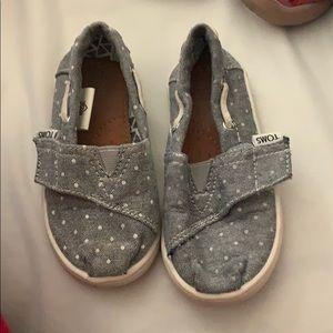 Toms Light blue shoes